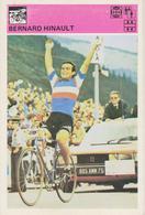 TH2097  ~~  BERNARD HINAULT ~~   SVIJET SPORTA CARD - Radsport