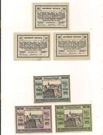 3 Notgeldscheine Emmerrsdorf 10, 20 + 50 H - Wachauer Notgeld - Autriche