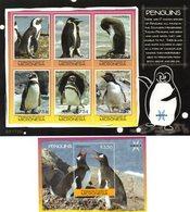 MICRONESIE 2007 / Superbe 6 Valeurs Dentelées Sur Bloc + Bloc  MNH - Préservation Des Régions Polaires & Glaciers