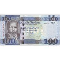 TWN - SOUTH SUDAN 15a - 100 Pounds 2015 Prefix AA UNC - Sudan Del Sud
