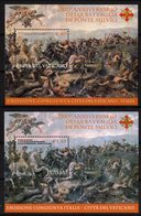 Italy Vatican City 2012 Joint Issue Battle Ponte Milvio 2 BF - Emissioni Congiunte