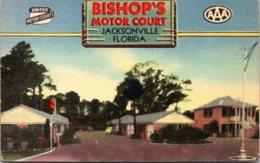 Florida Jacksonville Bishop's Motor Court - Jacksonville