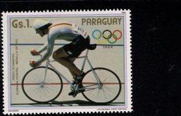 738141107  POSTFRIS MINT NEVER HINGED POSTFRISCH EINWANDFREI  SCOTT 2134C FREDY SCHMIDTKE 1984 SUMMER OLYMPICS LOS ANGEL - Paraguay