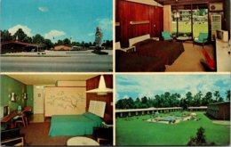 Florida Jacksonville Howard Johnson's Motor LOdge & Restaurant US1 South - Jacksonville