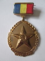 Rare!Romanian(R.S.R.) Communist Order:Hero Of The New Agrarian Revolution,from 70s/Erou Al Noii Revolutii Agrare Anii 70 - Médailles & Décorations