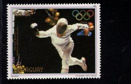 738142475  POSTFRIS MINT NEVER HINGED POSTFRISCH EINWANDFREI  SCOTT 2134D 1984 SUMMER OLYMPICS PHILLIPPE BOISSE - Paraguay