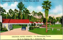 Florida Jacksonville Colonial Hotel Courts - Jacksonville