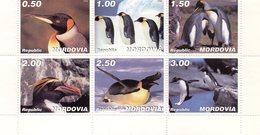 MOLDAVIE 1998 / Superbe 6 Valeurs Sur Bloc Dentelées MNH - Préservation Des Régions Polaires & Glaciers