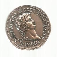 Les Monnaies Romaines,Trésor Du Patrimoine , Reproduction,  NERO , Frais Fr 2.55e - Romaines