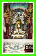 HABANA, CUBA - INTERIOR LA MERCED CHURCH, HAVANA - PUB. BY ROBERTS & CO - - Cuba