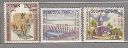 SUDAN 1964 Fair MNH(**) Mi 200-202 #24072 - Soudan (1954-...)