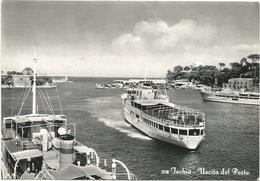 W2029 Ischia (Napoli) - Uscita Dal Porto - Barche Boats Bateaux / Non Viaggiata - Other Cities