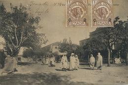 Benadir . 2 Elephant Stamps Poste Italiane Benadir  Used To Lisieux France - Somalie
