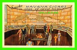 HABANA, CUBA - EXHIBIT AT THE NEW YORK WORLD'S FAIR - SMOKE HAVANA CIGARS - ANIMATED - - Cuba