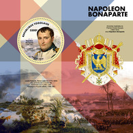 TOGO 2019 - Napoleon, Coat Of Arms S/S. Official Issue. - Timbres