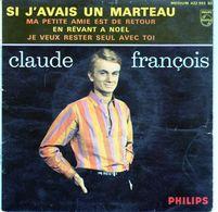 Pochette Sans Disque - Claude François - Si J'avais Un Marteau - Philips 432.992 BE 6 1963 - Vinyles