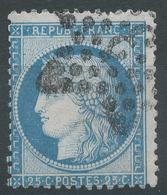 Lot N°47079  N°60, Oblit étoile Chiffrée 3 De PARIS (Pl De La Madeleine) - 1871-1875 Ceres