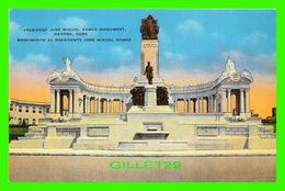 HABANA, CUBA - PRESIDENT JOSE MIGUEL GOMEZ MONUMENT, HAVANA - PUB. BY ROBERTS & CO - - Cuba