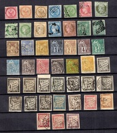 Colonies Générales Belle Collection Neufs * Et Oblitérés 1859/1881. Bonnes Valeurs. B/TB. A Saisir! - Non Classés