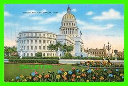HABANA, CUBA - CAPITOL BUILDING - ANIMATED - PUB. BY ROBERTS & CO - - Cuba