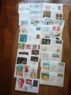 Lot 21 Enveloppes 1er Jour   Monde  Voir Scans  Port France 2€ - Collections (sans Albums)