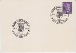 DR 3 Reich Privatganzsache PP 156 A 1 SSt Berlin Charlottenburg 1942 - Deutschland