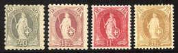 Schweiz - 1882-1906 Armoiries, Helvetia Debout & UPU