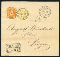 Schweiz Sitzende Helvetia Gezähnt - Lettres & Documents