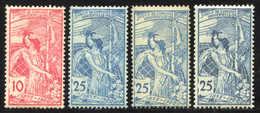 Schweiz Weltpostverein UPU - 1882-1906 Armoiries, Helvetia Debout & UPU