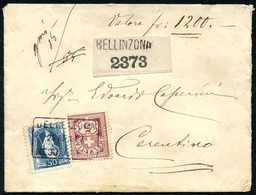 Schweiz Stehende Helvetia - Lettres & Documents