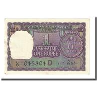 Billet, Inde, 1 Rupee, Undated (1969-70), KM:66, NEUF - Inde