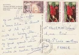Lettre De Papette RP Annexe 1  Pour Herrlisheim-près-de-Colmar - Polynésie Française