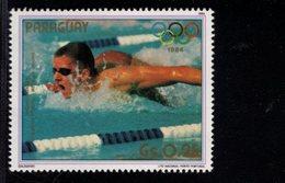738154766  POSTFRIS MINT NEVER HINGED POSTFRISCH EINWANDFREI  SCOTT 2134A 1984 SUMMER OLYMPICS MICHAEL GROSS - Paraguay