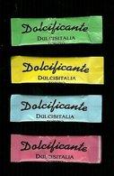 4 Bustine Zucchero Ipocalorico Italia - Vari Colori - Zucchero (bustine)