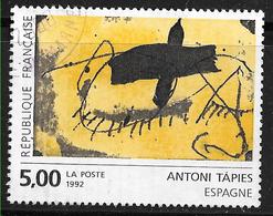 FRANCE 2782 Création D'Antoni Tapies Espagne . - Francia