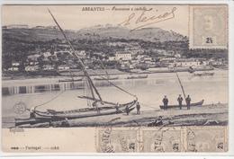 Portugal-- Abrantes Panorama E Castelo - Santarem