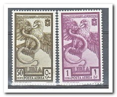 Italiaans Libië 1938, Postfris MNH, Birds - Libië