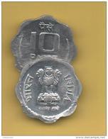 INDIEN - INDIA  -  10 PAISA 1986 SC  KM677 - Inde