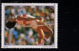 738155438  POSTFRIS MINT NEVER HINGED POSTFRISCH EINWANDFREI  SCOTT 2134E 1984 SUMMER OLYMPICS ULRIKE MEYFARTH - Paraguay