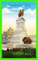 HABANA, CUBA - GENERALISIMO MAXIMO GOMEZ MONUMENT, HAVANA -  PUB. BY ROBERTS & CO - - Cuba
