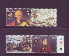 Malta 1998 - Ordine Cavalieri Di S.Giovanni, 4v In Coppia Con Annullo Rotondo - Malte