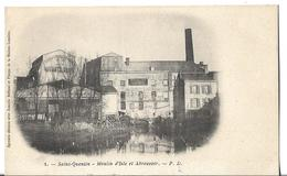CPA  De  SAINT-QUENTIN  (02)  -   Moulin  D' Isle  Et  Abreuvoir       //   TBE - Saint Quentin