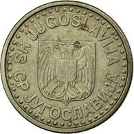 Monnaie, Yougoslavie, Novi Dinar, 1999, TB+, Copper-Nickel-Zinc, KM:168 - Yougoslavie