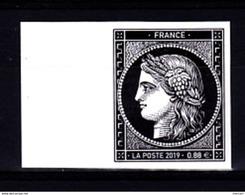 CERES 1849 Bord De Feuille € 0,88 € 170 Ans Du Premier Timbre Poste Français - France