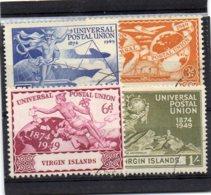 1949 U P U Set Used - British Virgin Islands