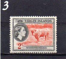 1956 Elizabeth 2c MNH - British Virgin Islands