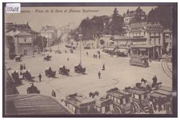 LAUSANNE - PLACE DE LA GARE - TRAMWAY - TB - VD Vaud
