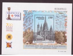 Espagne 1998 - MNH ** - Expositions Philatéliques - Michel Nr. Bloc 72 (esp376) - 1931-Oggi: 2. Rep. - ... Juan Carlos I