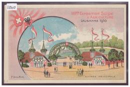 LAUSANNE - VIIIème EXPOSITION D'AGRICULTURE 1910 - TB - VD Vaud