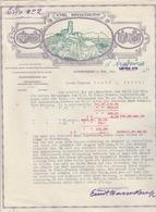 GODESBERG : Lettre Illustrée - Commande De Crayons Conté. - Allemagne